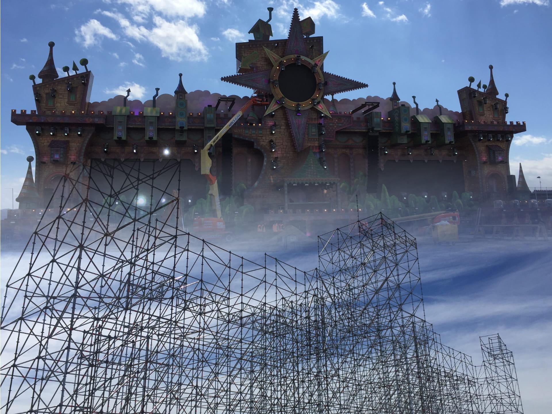 Escenari Day Dream Festival 2018 - Scaffolding